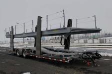 摩天10.9米7.3吨2轴中置轴车辆运输挂车(JKS9150TCL)
