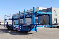 巨运13.6米17.5吨2轴车辆运输半挂车(LYZ9250TCL)