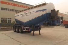 东润9.8米31.3吨3轴中密度粉粒物料运输半挂车(WSH9400GFL)