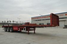 东润12米34吨3轴平板半挂车(WSH9400P)