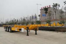 东润12.5米33.4吨3轴集装箱运输半挂车(WSH9402TJZ)