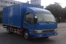 江淮骏铃国五单桥厢式运输车109-152马力5吨以下(HFC5041XXYP93K1C2V)
