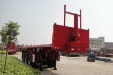东润8米31.5吨3轴平板自卸半挂车(WSH9400ZZXP)