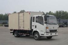 豪沃国五单桥厢式货车87-125马力5吨以下(ZZ5047XXYC3315E145)