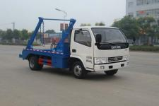 国五东风多利卡摆臂式垃圾车价格