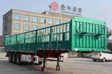 祥菏12米33.9吨3轴仓栅式运输半挂车(JJN9401CCYE)