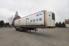 骏通13.4米30.7吨3轴冷藏半挂车(JF9400XLC)