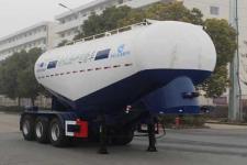 开乐8.5米33吨3轴中密度粉粒物料运输半挂车(AKL9401GFLB5)