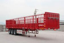 通广九州12.5米34吨3仓栅式运输半挂车