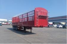 东润12.5米33.4吨3仓栅式运输半挂车