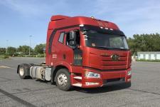 解放单桥危险品运输半挂牵引车465马力(CA4180P66K24E5Z)