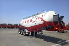 骏通8.9米32.5吨3轴中密度粉粒物料运输半挂车(JF9404GFL38)