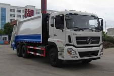 中汽力威牌HLW5250ZYS5DF型压缩式垃圾车