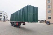 吉鲁恒驰12米30.5吨3轴散装粮食运输半挂车(PG9406ZLS)