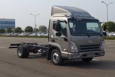 康恩迪国五单桥货车底盘131马力0吨(CHM1071GDC33V)