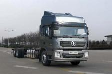 陕汽国五前四后四货车底盘430马力0吨(SX1250XC3GC)