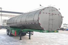 骏强9.6米24.5吨2轴鲜奶运输半挂车(JQ9320GNY)