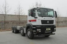 汕德卡国五前四后八货车底盘340马力0吨(ZZ1316N326ME1)