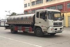 东风天锦单桥鲜奶运输车