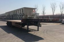 中基华烁12.5米33.4吨3轴低平板半挂车(XHS9401TDP)