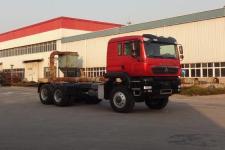 豪沃越野载货汽车底盘(ZZ2257V455GE1)