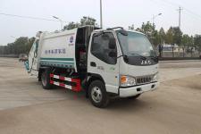 江淮6方壓縮式垃圾車價格