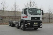 汕德卡国五前四后八货车底盘340马力0吨(ZZ1316N366ME1)