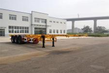 黄海12.4米34.9吨3轴集装箱运输半挂车(DD9407TJZ)