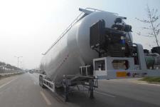 固得美12.3米28.4吨3轴低密度粉粒物料运输半挂车(GDM9401GFL)