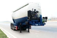 固得美8.8米31.6吨3轴下灰半挂车(GDM9401GXH)