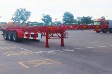 骏通12.4米34.1吨3轴危险品罐箱骨架运输半挂车(JF9400TWY40)