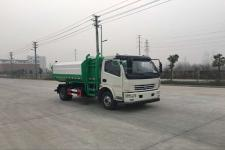 东风多利卡国五6方挂桶垃圾车