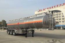 楚飞12米32.7吨3轴铝合金运油半挂车(CLQ9403GYYBA)
