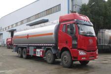 解放J6前四后八19吨运油车