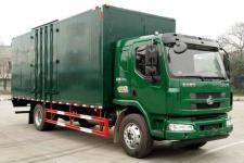 东风柳汽国五单桥厢式运输车160-200马力5-10吨(LZ5180XXYM3AB)