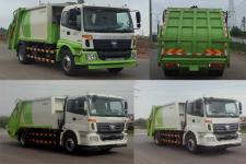 福田牌BJ5182ZYSE5-H1型压缩式垃圾车图片