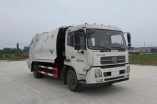 东风天锦12立方压缩式垃圾车