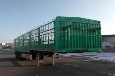 鑫华驰12米33.7吨3轴仓栅式运输半挂车(THD9406CCY)