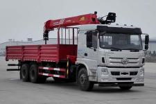 十通牌STQ5258JSQS5型随车起重运输车图片
