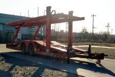 卫华11.7米8.3吨2轴中置轴车辆运输挂车(WTZ9170TCL)