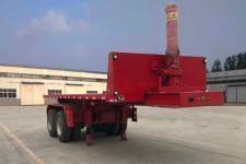 梁山宇翔7.2米29噸2軸平板自卸半掛車(YXM9350ZZXP)