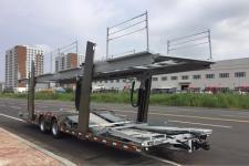 摩天10.9米9.6吨2轴中置轴车辆运输挂车(JKS9180TCL)
