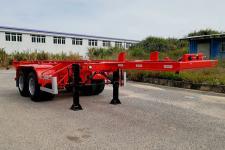 中集7.2米31.2吨2轴集装箱运输半挂车(ZJV9350TJZSZA)