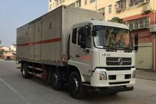 程力威国五前四后四厢式货车211-286马力10-15吨(CLW5256XRQD5)