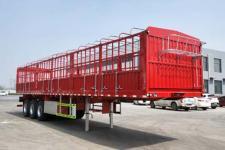 万里盈12米33.8吨3轴仓栅式运输半挂车(HCB9400CCY)