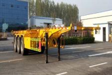 万里盈牌HCB9400TJZ型集装箱运输半挂车图片