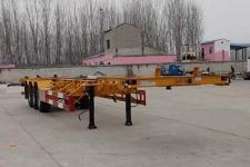 中鱼骏达14米34.8吨3轴集装箱运输半挂车(YJD9400TJZED)