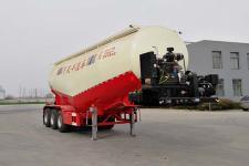 恒通梁山9.9米31吨3轴下灰半挂车(CBZ9400GXH)