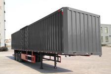 梁山宇翔12.5米31.5吨3轴厢式运输半挂车(YXM9400XXY)