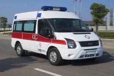 福特V348中轴中顶运输型监护型救护车报价